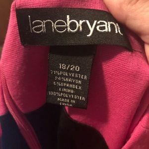 Lane Bryant Dresses - Lane Bryant 18/20 Pink & Black Dress NWOT